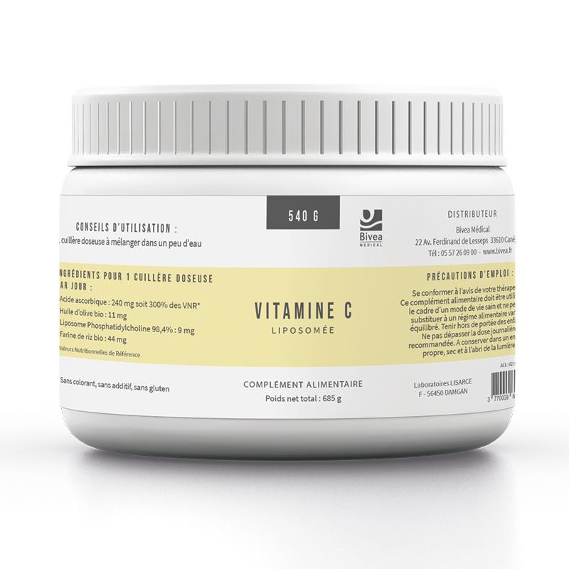 Vitamine c liposomée