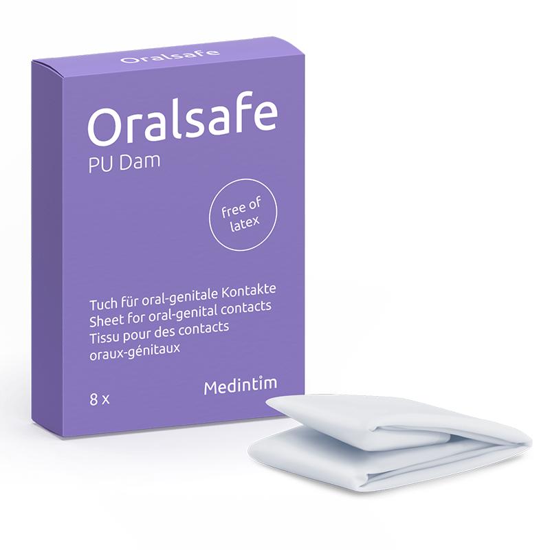 Boite Oralsafe protection pour cunnilingus