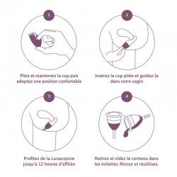 Coupe menstruelle mode d'emploi