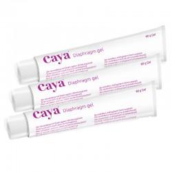 Lot de 3 Cayagel Medintim, gel contraceptif