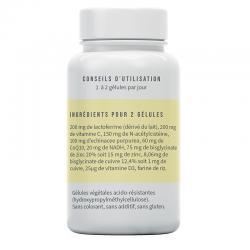 ingrédients du complément alimentaire Septiferrine de Bivea Médical