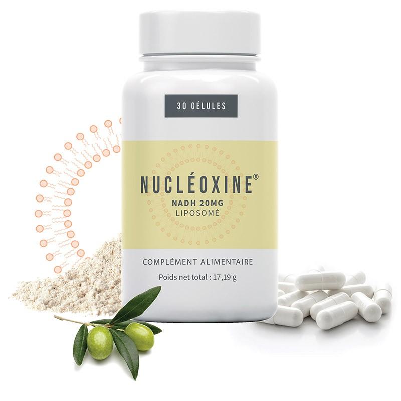 Complément alimentaire Nucléoxine NADH 600mg sous forme liposomale