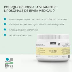 avantages de la vitamine c liposomale en poudre de bivea medical
