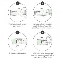 utilisation du pilulier journalier anabox