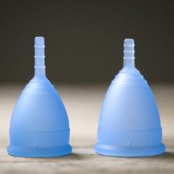 Coupe menstruelle en tailles 1 ou 2 Lunacopine