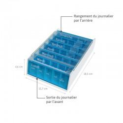 Pilulier Anabox hebdomadaire 7j croisière dimensions