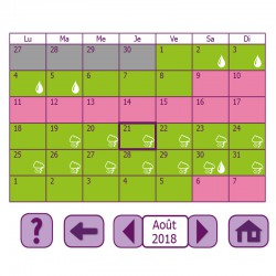 Calendrier cycle menstruel cyclotest myWay